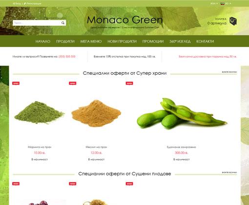 Monaco Green