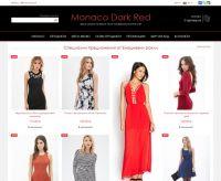 Monaco Dark Red